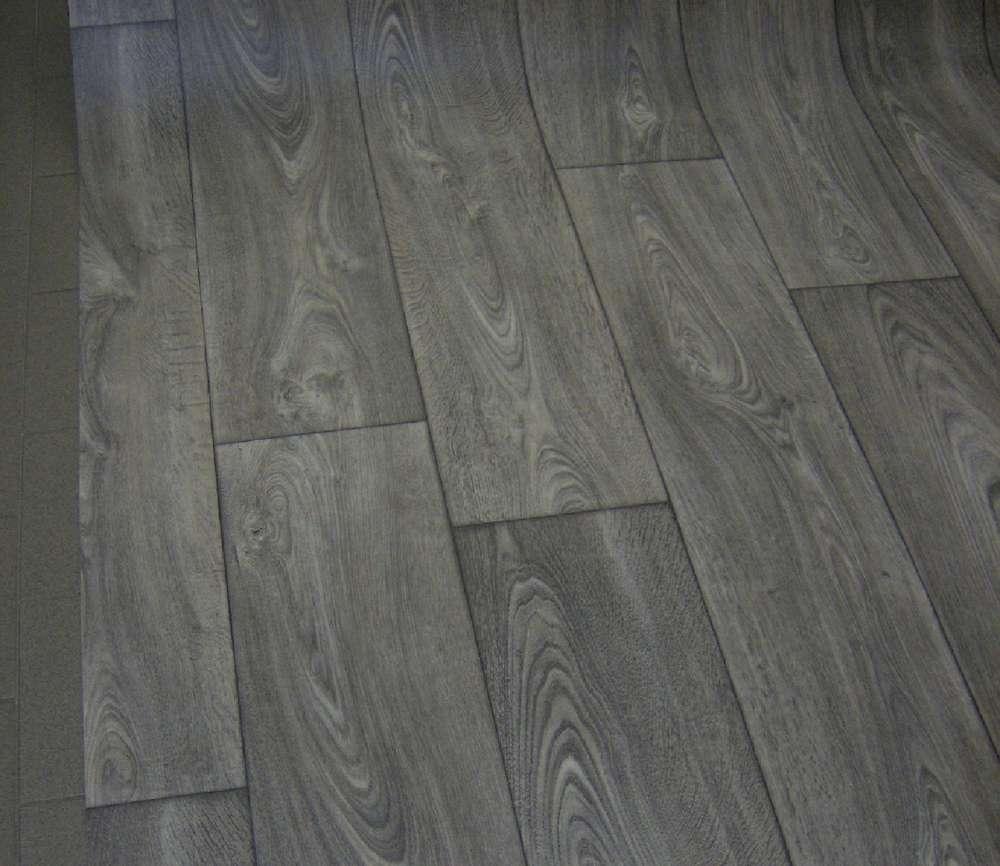 PVC Bodenbelag Vinyl Parkett grau günstig 130x430 - alldecor24.de